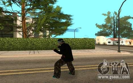 Varios Los Aztecas Gang Member v5 for GTA San Andreas third screenshot