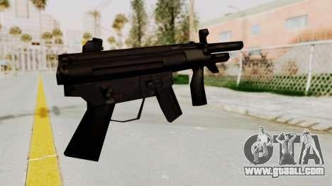 Liberty City Stories SMG for GTA San Andreas second screenshot