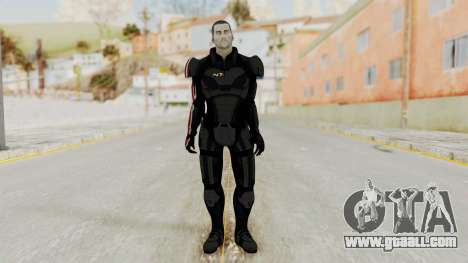 Mass Effect 2 Shepard Default N7 Armor No Helmet for GTA San Andreas second screenshot