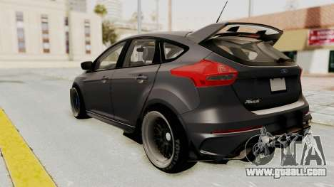 Ford Focus RS 2017 Rocket Bunny for GTA San Andreas left view