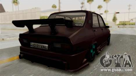 Dacia 1310 TX Tuning for GTA San Andreas right view
