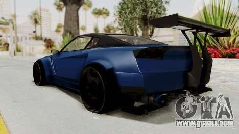 GTA 5 Annis Elegy Twinturbo Spec for GTA San Andreas left view