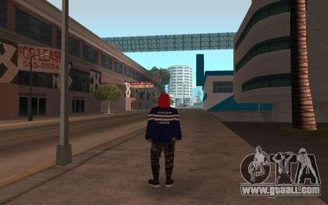 New homeless v3 for GTA San Andreas second screenshot