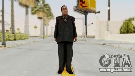 Taher Shah Black Suit for GTA San Andreas second screenshot