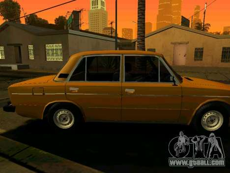 VAZ 2106 Stoke for GTA San Andreas back left view