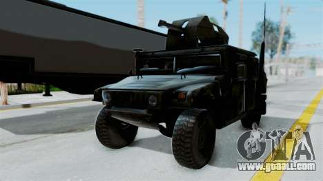 Humvee M1114 Woodland for GTA San Andreas right view