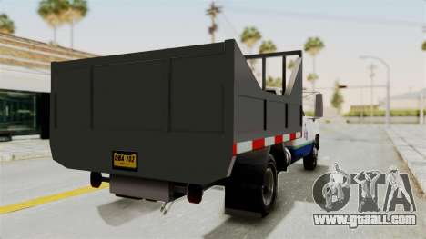 GMC Sierra 3500 for GTA San Andreas left view