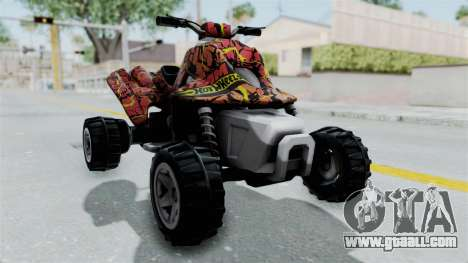Sand Stinger from Hot Wheels Worlds Best Driver for GTA San Andreas right view