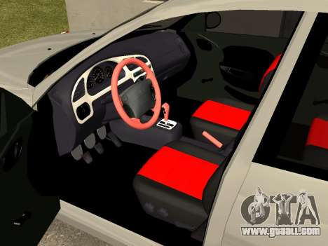 Daewoo Lanos (Sens) 2004 v1.0 by Greedy for GTA San Andreas inner view