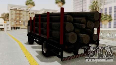FAP Kamion za Prevoz Trupaca for GTA San Andreas back left view