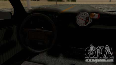 Fiat Uno for GTA San Andreas inner view