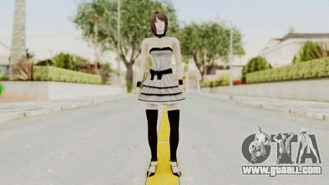 Fatal Frame 4 - Rukka White Dress for GTA San Andreas second screenshot