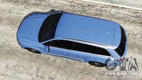 GTA 5 Audi Q7 2015 [rims1] back view