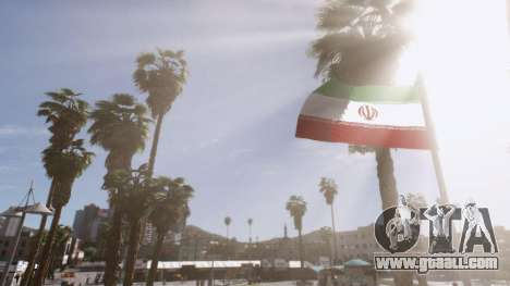 GTA 5 Iranian Flag second screenshot