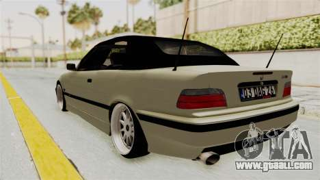 BMW 320CI E36 for GTA San Andreas left view