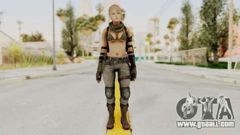 Victoria Kanayeva from Phantomers for GTA San Andreas second screenshot