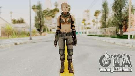 Victoria Kanayeva from Phantomers for GTA San Andreas second screenshot