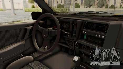 Ford Sierra Mk1 Drag Version for GTA San Andreas inner view