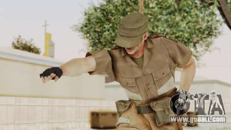 MGSV Phantom Pain CFA Soldier v2 for GTA San Andreas