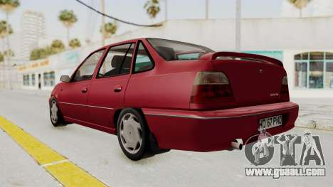 Daewoo Cielo 1.5 GLS 1998 for GTA San Andreas right view
