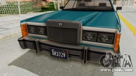 GTA 5 Dundreary Virgo Classic IVF for GTA San Andreas inner view