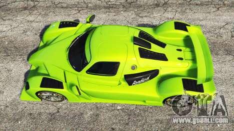 GTA 5 Radical RXC Turbo back view