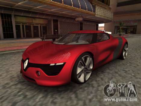 Renault Dezir Concept for GTA San Andreas