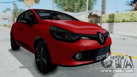 Renault Clio 4 HQLM for GTA San Andreas