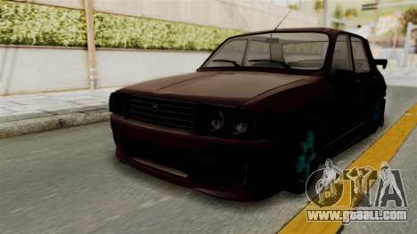 Dacia 1310 TX Tuning for GTA San Andreas back left view