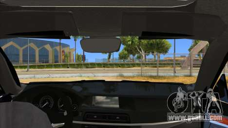 2014 BMW X5 F15 Police for GTA San Andreas inner view