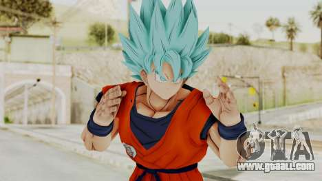Dragon Ball Xenoverse Goku SSGGSS for GTA San Andreas