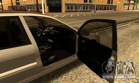 Mitsubishi Lancer 2005 for GTA San Andreas back left view