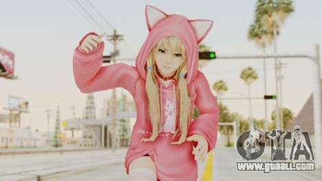 DoA5 LR Marie Rose Newcomer Set for GTA San Andreas