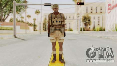 MGSV Phantom Pain CFA Combat Vest 1 v1 for GTA San Andreas second screenshot