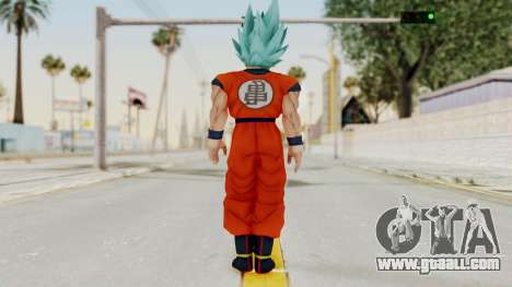 Dragon Ball Xenoverse Goku SSGGSS for GTA San Andreas third screenshot