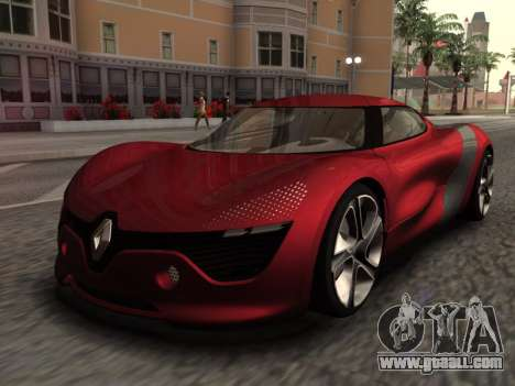 Renault Dezir Concept for GTA San Andreas back left view