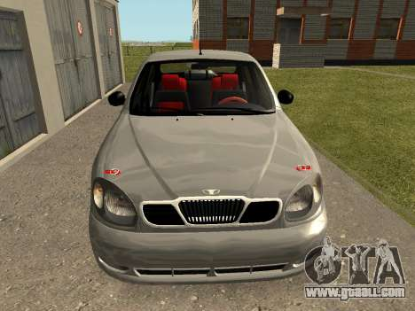 Daewoo Lanos (Sens) 2004 v1.0 by Greedy for GTA San Andreas right view