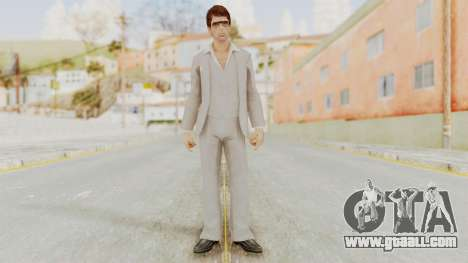 Scarface Tony Montana Suit v1 with Glasses for GTA San Andreas second screenshot