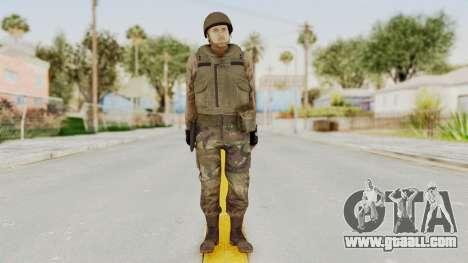 MGSV Phantom Pain RC Soldier Vest v1 for GTA San Andreas second screenshot