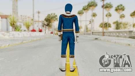 Power Ranger Zeo - Blue for GTA San Andreas third screenshot
