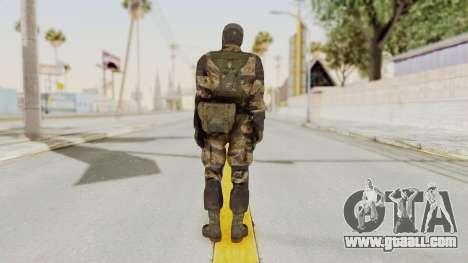 MGSV TPP Diamond Dog Combat Male for GTA San Andreas third screenshot