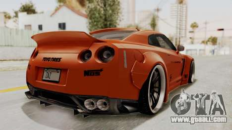Nissan GT-R R35 Liberty Walk LB Performance for GTA San Andreas