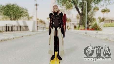 LRFFXIII Lightning Equilibrium Garb v1 for GTA San Andreas second screenshot