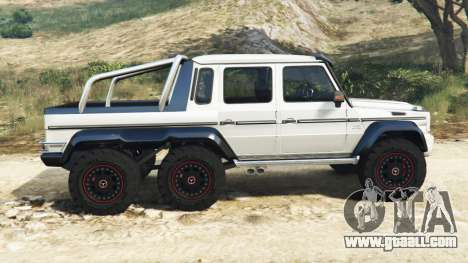 GTA 5 Mercedes-Benz G65 AMG 6x6 left side view