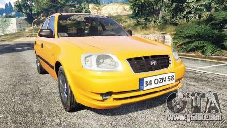 Hyundai Accent Admire for GTA 5