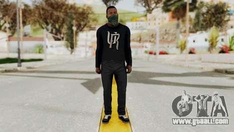 GTA 5 Franklin v1 for GTA San Andreas second screenshot