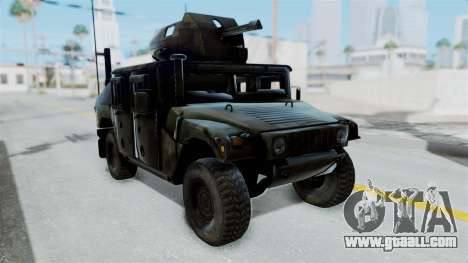 Humvee M1114 Woodland for GTA San Andreas