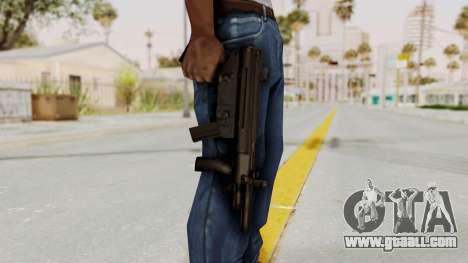 Liberty City Stories SMG for GTA San Andreas third screenshot