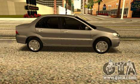 Mitsubishi Lancer 2005 for GTA San Andreas left view