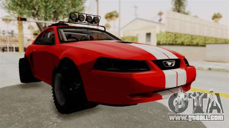 Ford Mustang 1999 Rusty Rebel for GTA San Andreas